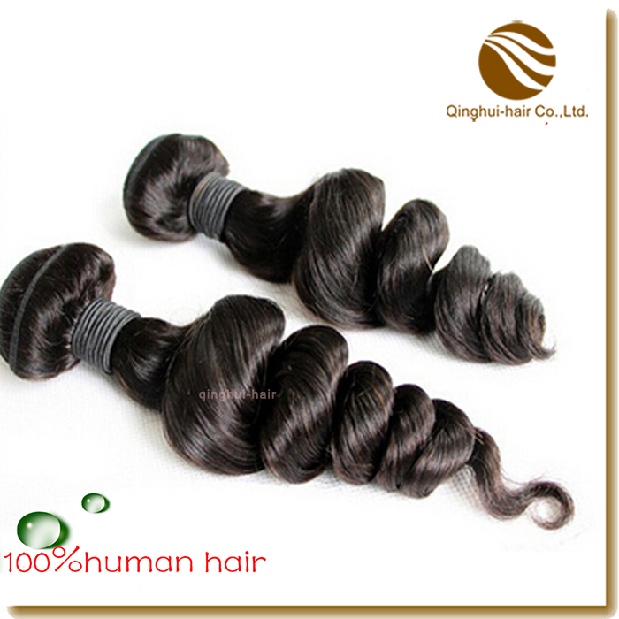 loose wave hair weft/weaving