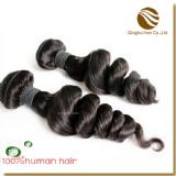 loose wave hair weft/weaving